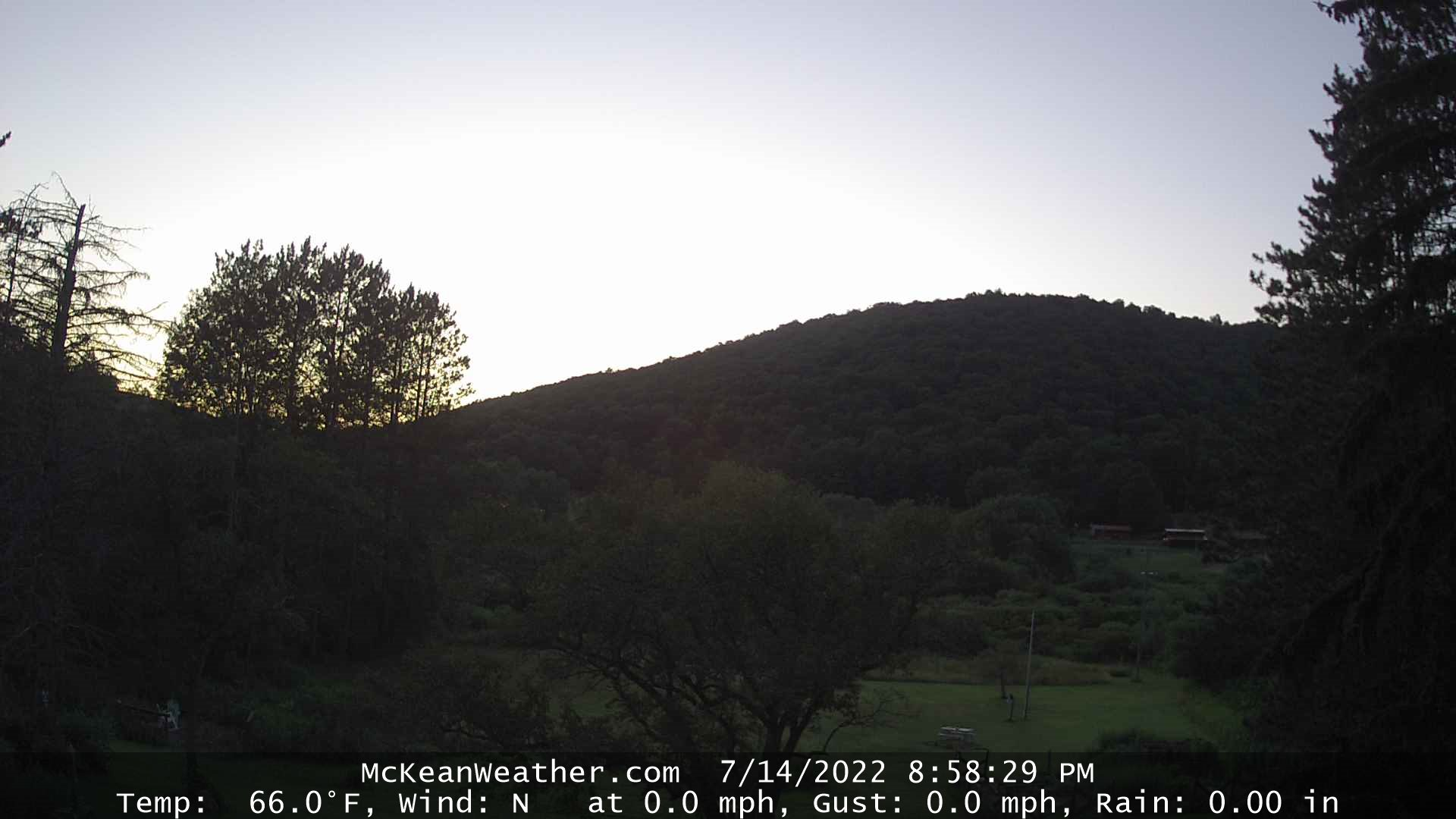 Current Web Cam Picture from McKean Weather